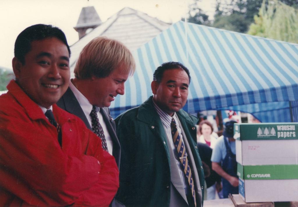 Yuji Yoshida, Joel Burkad, Hiroji Sakai