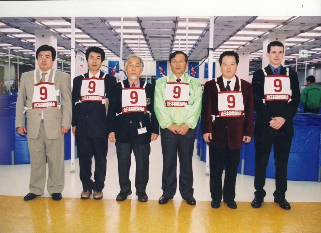 All Japan Koi Show Judge